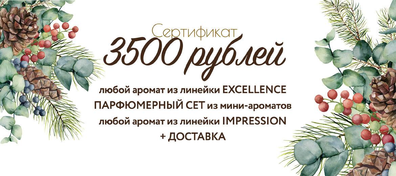 Онлайн сертификат на 3500 руб.