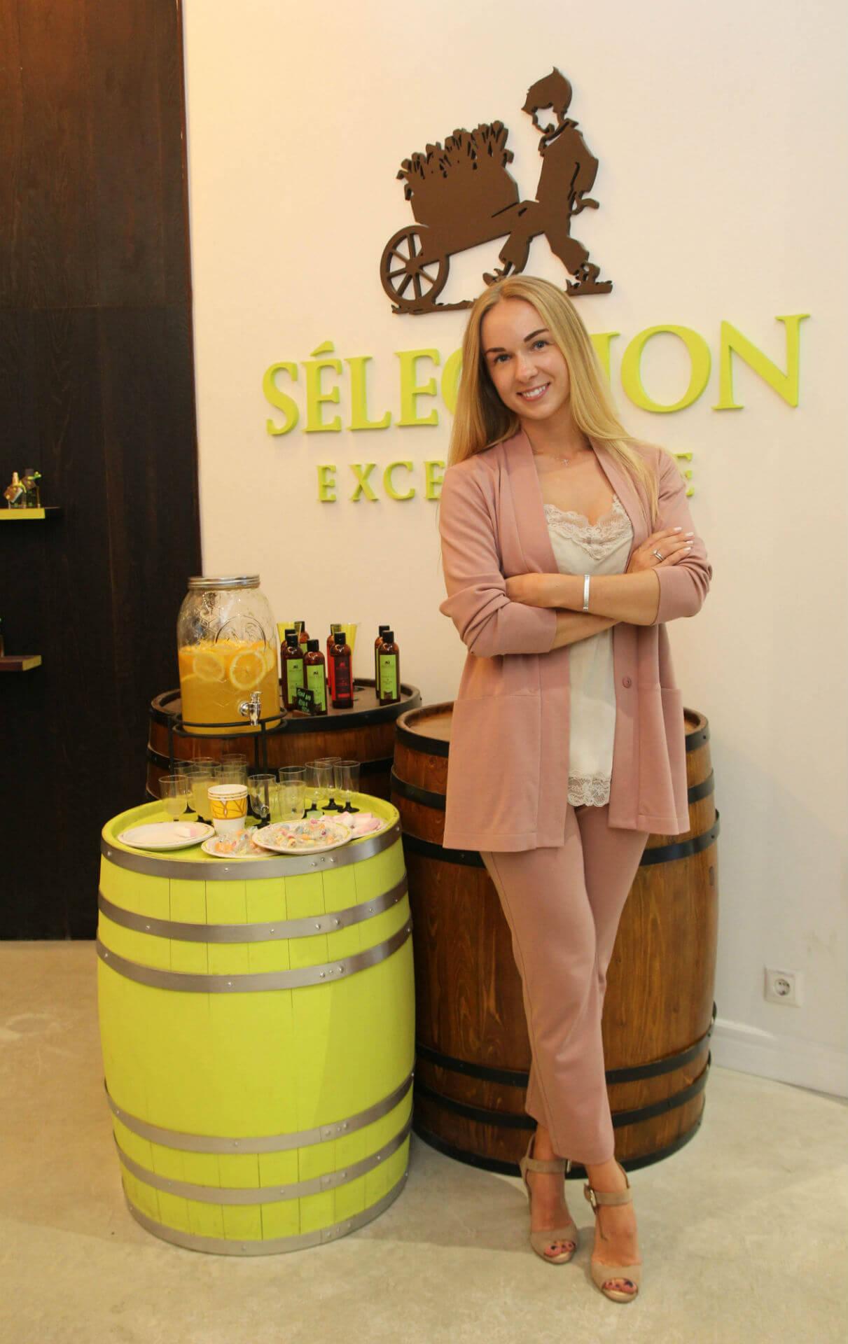 Основатель марки Selection Excellence Маша Борисова