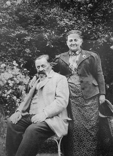 история Генриха Брокара и его жены Шарлотты Равэ