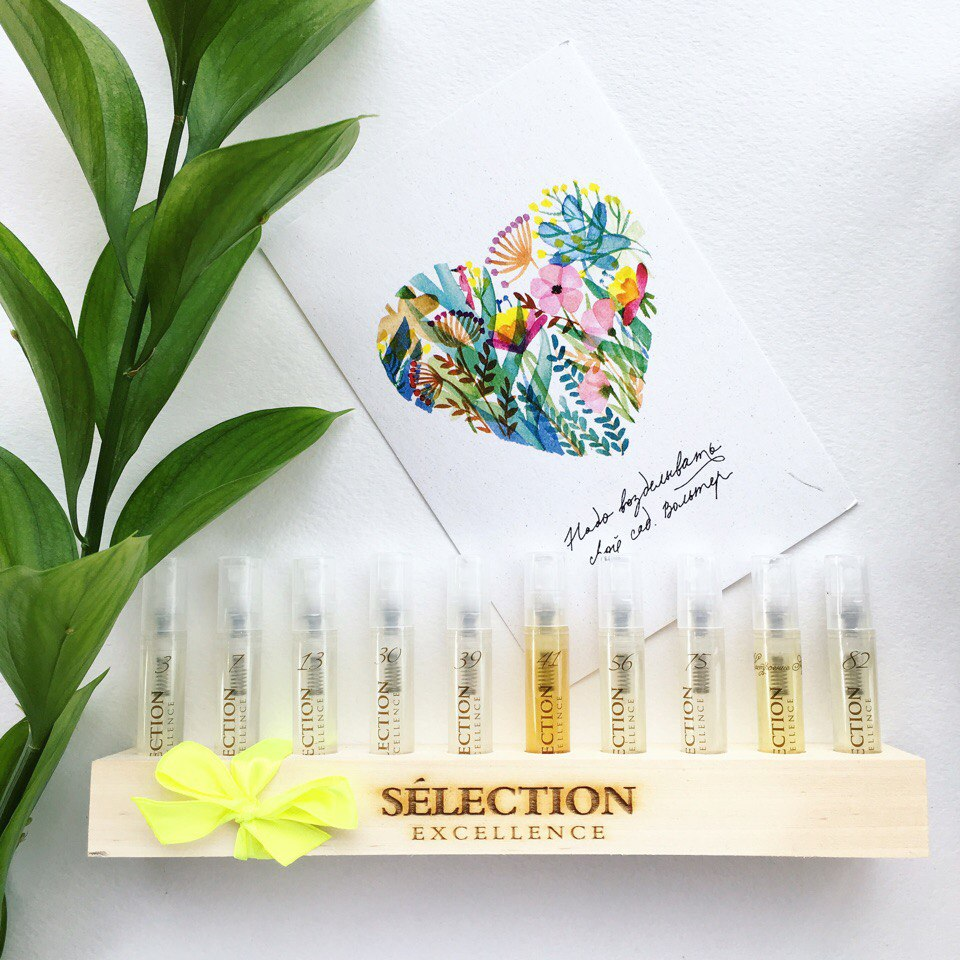 наборы из мини-ароматов